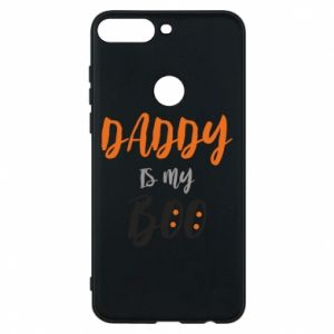 Phone case for Huawei Y7 Prime 2018 Daddy is my boo - PrintSalon