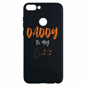 Phone case for Huawei P Smart Daddy is my boo - PrintSalon