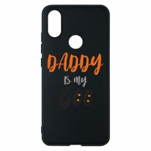Phone case for Xiaomi Mi A2 Daddy is my boo - PrintSalon