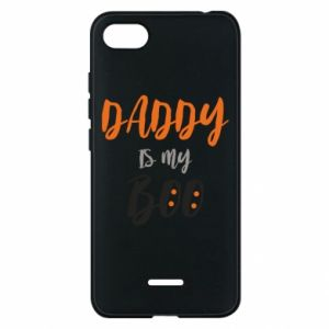 Phone case for Xiaomi Redmi 6A Daddy is my boo - PrintSalon