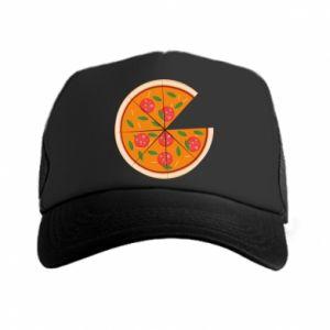 Trucker hat Daddy's pizza - PrintSalon