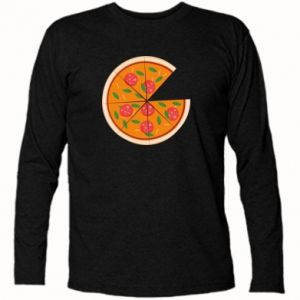 Long Sleeve T-shirt Daddy's pizza - PrintSalon