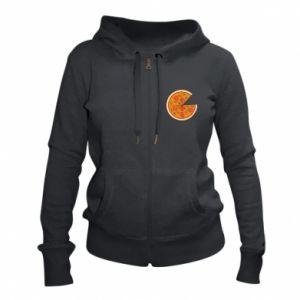 Women's zip up hoodies Daddy's pizza - PrintSalon