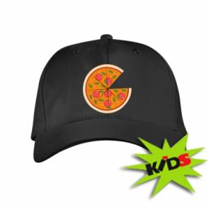 Kids' cap Daddy's pizza - PrintSalon