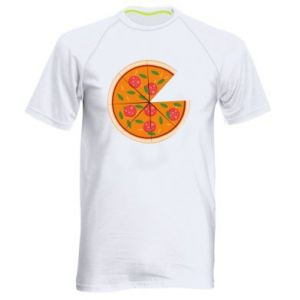 Men's sports t-shirt Daddy's pizza - PrintSalon