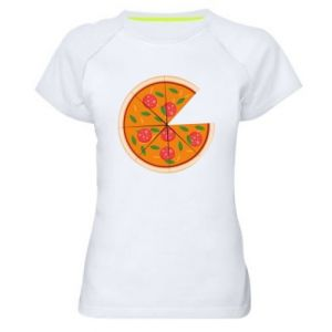 Women's sports t-shirt Daddy's pizza - PrintSalon