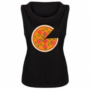 Women's t-shirt Daddy's pizza - PrintSalon