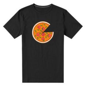 Men's premium t-shirt Daddy's pizza - PrintSalon