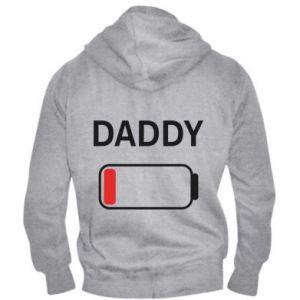 Męska bluza z kapturem na zamek Daddy charge