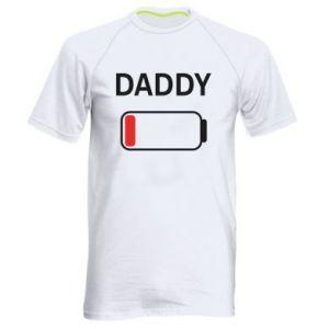 Męska koszulka sportowa Daddy charge