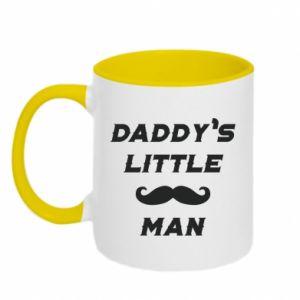 Kubek dwukolorowy Daddy's little man