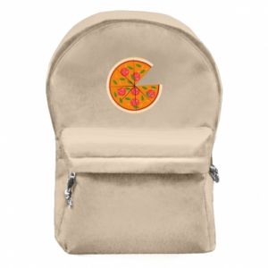 Backpack with front pocket Daddy's pizza - PrintSalon