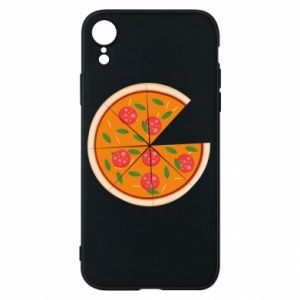 Phone case for iPhone XR Daddy's pizza - PrintSalon
