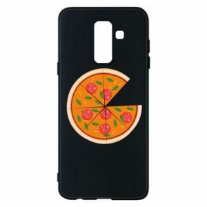 Phone case for Samsung A6+ 2018 Daddy's pizza - PrintSalon