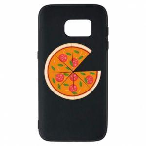 Phone case for Samsung S7 Daddy's pizza - PrintSalon