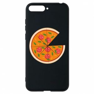 Phone case for Huawei Y6 2018 Daddy's pizza - PrintSalon