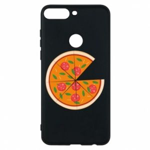 Phone case for Huawei Y7 Prime 2018 Daddy's pizza - PrintSalon