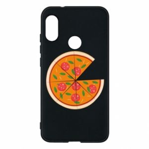 Phone case for Mi A2 Lite Daddy's pizza - PrintSalon