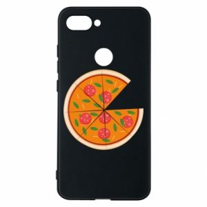 Phone case for Xiaomi Mi8 Lite Daddy's pizza - PrintSalon