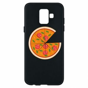 Phone case for Samsung A6 2018 Daddy's pizza - PrintSalon