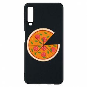 Phone case for Samsung A7 2018 Daddy's pizza - PrintSalon