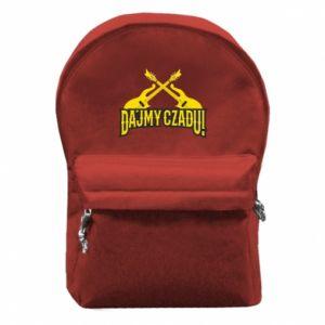 Plecak z przednią kieszenią Dajmy czadu