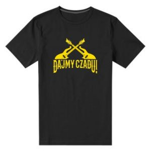 Męska premium koszulka Dajmy czadu