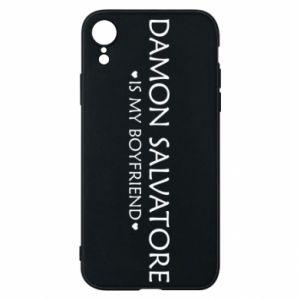 Etui na iPhone XR Damon Salvatore is my boyfriend