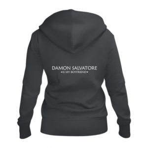 Damska bluza na zamek Damon Salvatore is my boyfriend