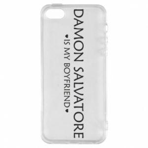 Etui na iPhone 5/5S/SE Damon Salvatore is my boyfriend