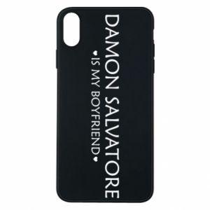 Etui na iPhone Xs Max Damon Salvatore is my boyfriend