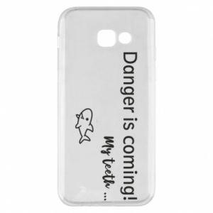 Etui na Samsung A5 2017 Danger is coming! My teeth ...