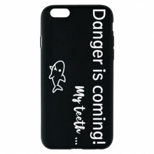 Etui na iPhone 6/6S Danger is coming! My teeth ...