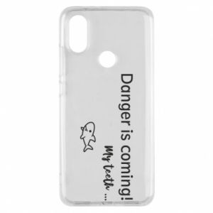 Etui na Xiaomi Mi A2 Danger is coming! My teeth ...