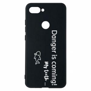 Etui na Xiaomi Mi8 Lite Danger is coming! My teeth ...