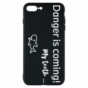 Etui na iPhone 7 Plus Danger is coming! My teeth ...