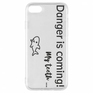 Etui na iPhone 8 Danger is coming! My teeth ...