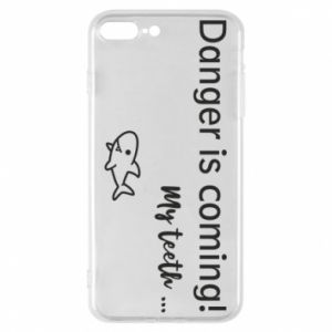 Etui na iPhone 8 Plus Danger is coming! My teeth ...