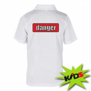 Koszulka polo dziecięca Danger