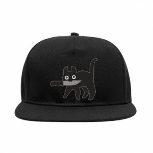 SnapBack Dangerous cat with a knife