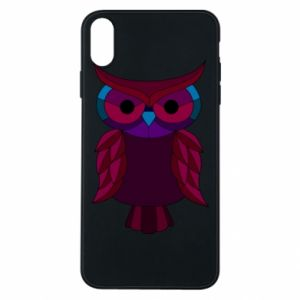 Phone case for iPhone Xs Max Dark owl - PrintSalon