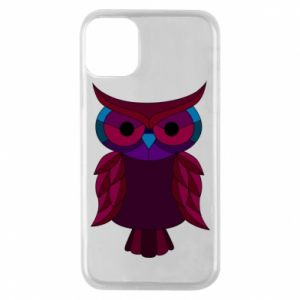 Phone case for iPhone 11 Pro Dark owl - PrintSalon