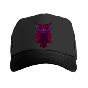 Trucker hat Dark owl - PrintSalon