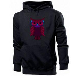 Men's hoodie Dark owl - PrintSalon