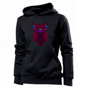 Women's hoodies Dark owl - PrintSalon