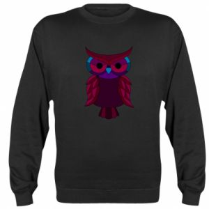 Sweatshirt Dark owl - PrintSalon