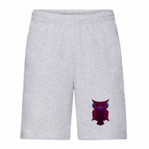 Men's shorts Dark owl - PrintSalon