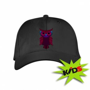 Kids' cap Dark owl - PrintSalon