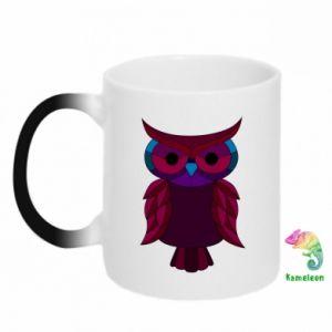 Kubek-kameleon Dark owl