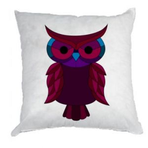 Pillow Dark owl - PrintSalon